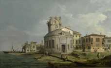 giovanni-antonio-canal,-called-canaletto---a-venetian-capriccio-view-of-an-oval-church-beside-the-lagoon.png